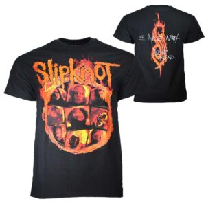 Slipknot We Are Not Your Kind Fire T-Shirt