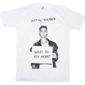 Justin Bieber What Do U Mean T-Shirt