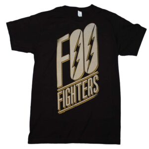 Foo Fighters Slanted Logo Slim Fit T-Shirt