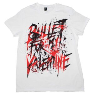 Bullet For My Valentine Splattered Logo T-Shirt