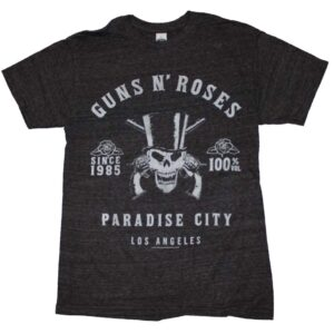 Guns n Roses L.A. Label Tri-Blend T-Shirt