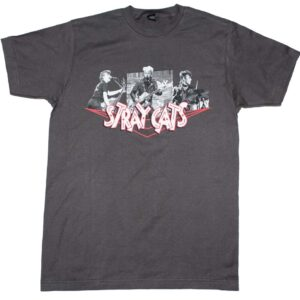 Stray Cats Photo Collage T-Shirt