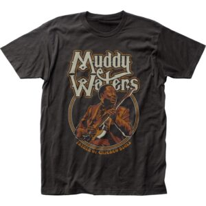 Muddy Waters Father of Chicago Blues T-Shirt
