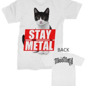 Miss May I Stay Metal Cat T-Shirt