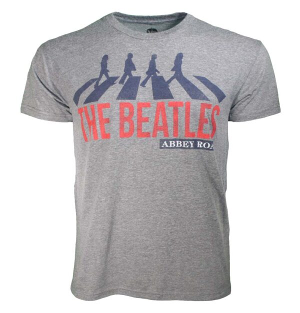 Beatles Abbey Road Heather T-Shirt